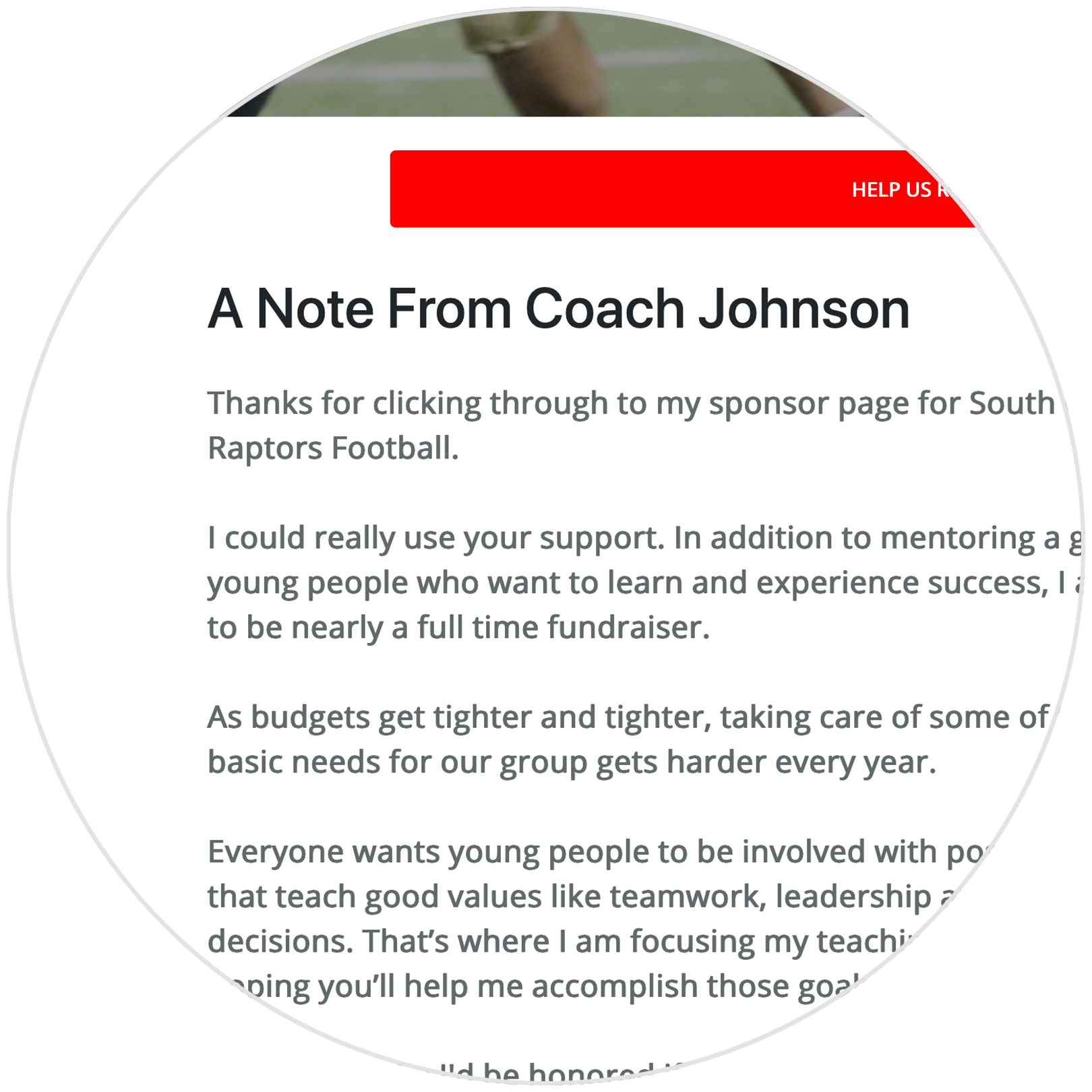 Reaching Our Goal - Coach Campaigns Too